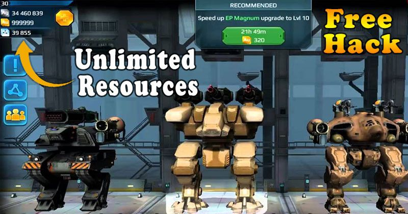 War Robots Hack - Unlimited Gold And Silver